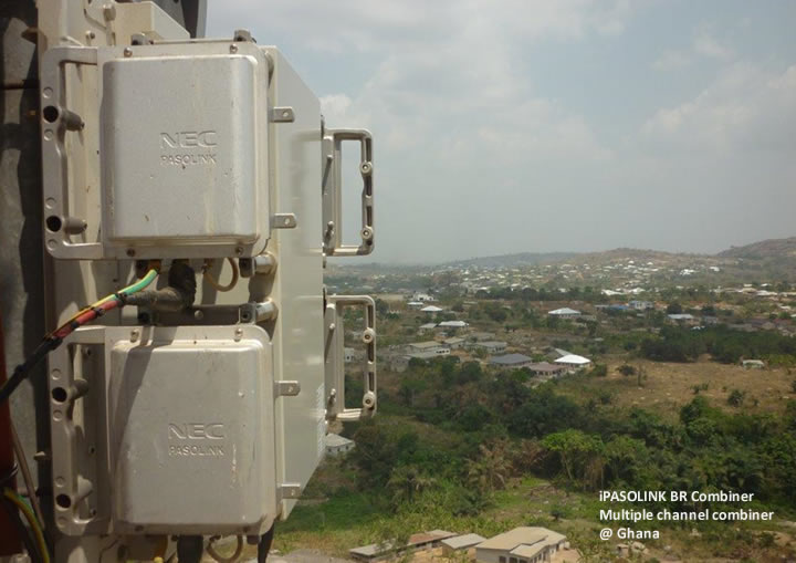 iPASOLINK BR at Ghana