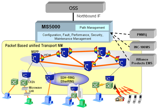 Integrated Network Management System MS5000